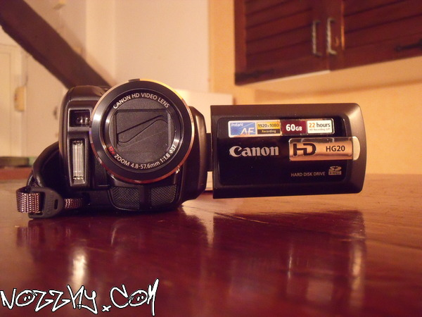 ACHAT : Canon HG 20 & RÉCEPTION : Windows Seven Édition Familiale Premium