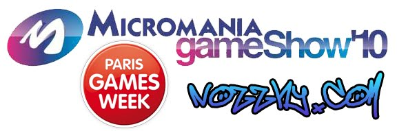 On sera au Micromania Game Show'10 et Paris Games Week