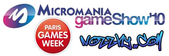 On sera au Micromania Game Show'10 et Paris Games Week