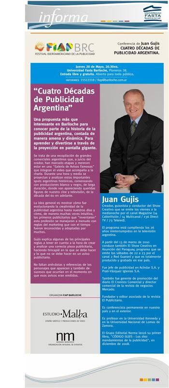 Conferencia Juan Gujis
