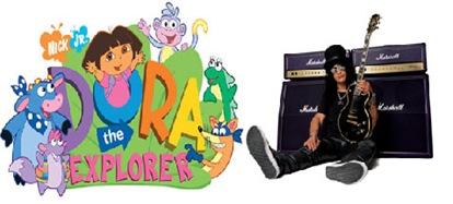 Dora y slash