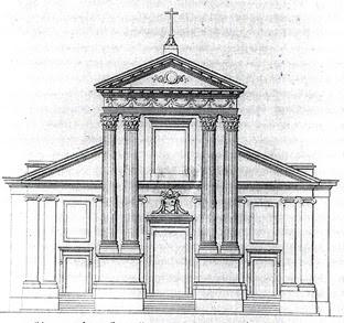 100disegni 05 05 11 la chiesa di san rocco e gli ordini architettonici - Elementi architettonici di una chiesa ...
