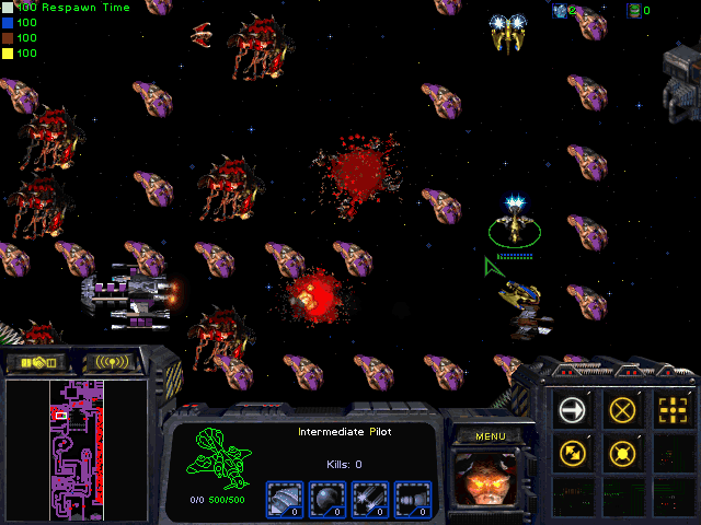 Download StarCraft Map: Asteriod Race