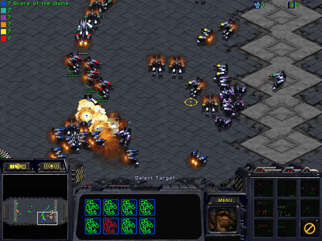 Download StarCraft Map: SCV Football
