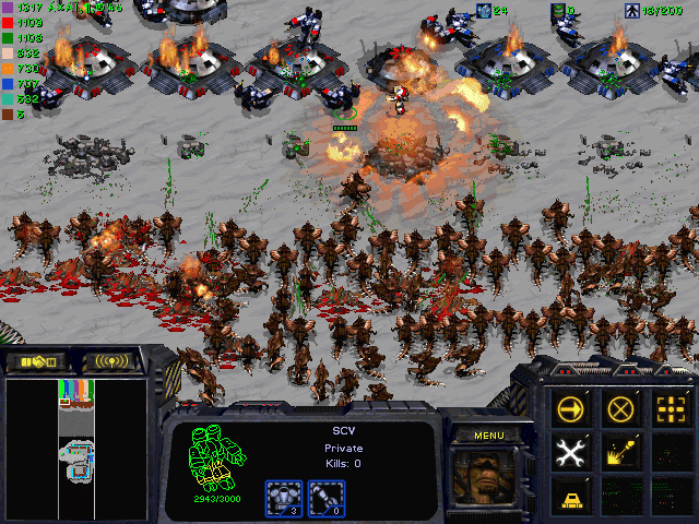 Download StarCraft Map: Kill 20001 Hydralisk Attack, Kill 12000 Hydras Attack, 20K Hydra Defense