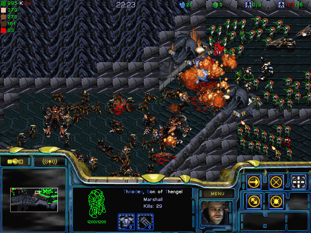 Download StarCraft Map: Lord of the Rings LotR Helm's Deep, Helms Deep pOody