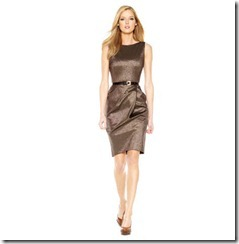 Michael-Kors-Metallic-Sheather-Dress