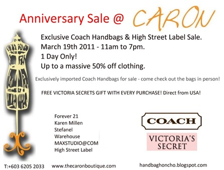 Caron Anniversary Sale V1.0