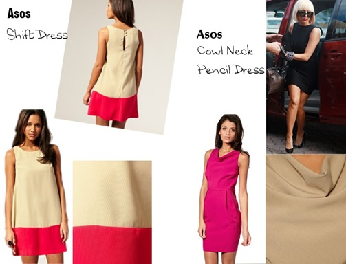 Asos Dress -Colour block