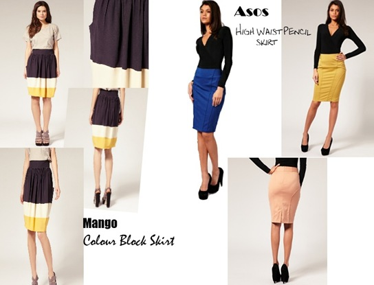 Skirt - Colour Block
