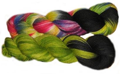 Drachenwolle Sockentiger