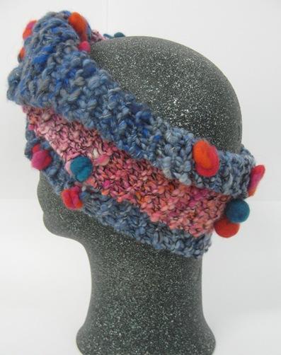 A- Schal Kragen Stirnband 6