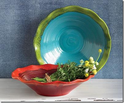 Big Spin Terra Cotta Bowls