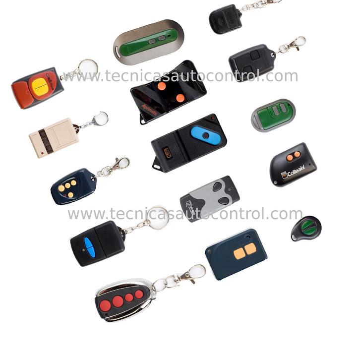 Mandos a distancia de puertas automaticas materiales de - Mando a distancia garaje ...