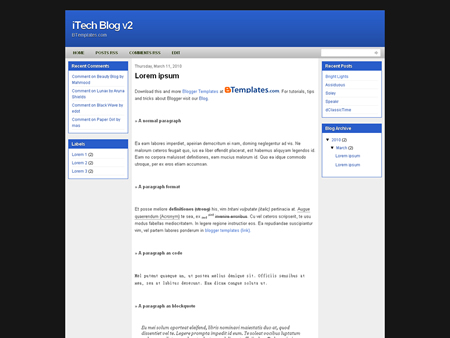 iTech Blog v2