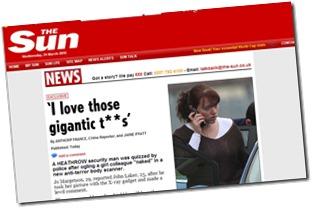 sun headline