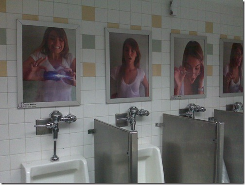 off-putting urinals