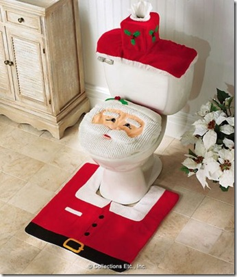 christmas crapper
