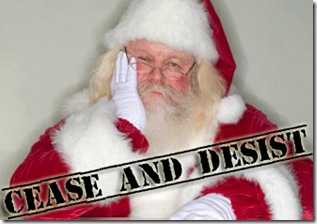 santa cease and desist