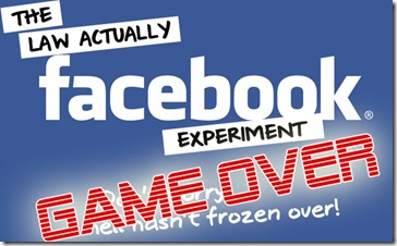 FB experiment game over