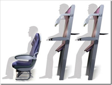 Ryanair Vertical Seating