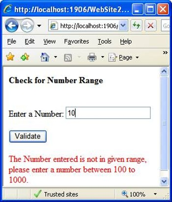 Check number validation in asp.net