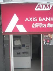 AXIS Bank ATM in Gurgaon.