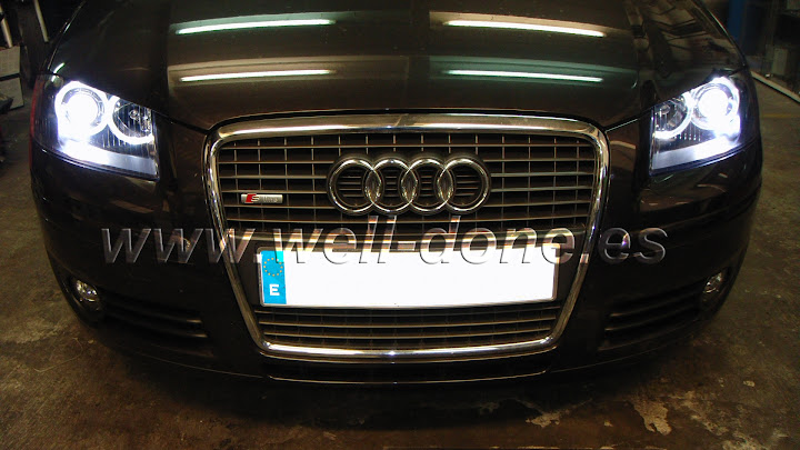 Xenon welldone well-done Audi A3 A38P