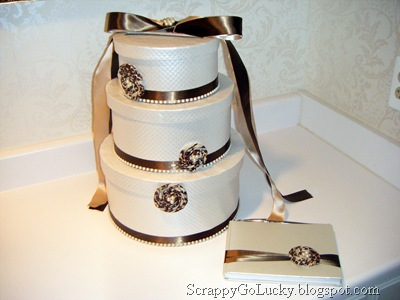 DIY Wedding Money Box | Scrappygolucky.blogspot.com