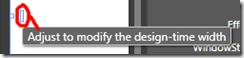 DesignTimeWidth