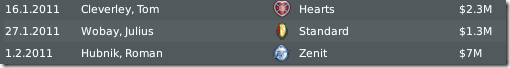 Sold Leeds players during transfer window, FM 2010
