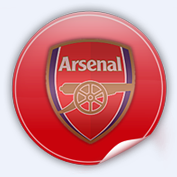Arsenal logo for Football Manager 2009