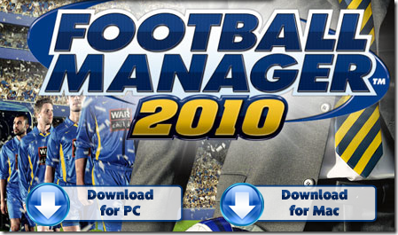 ايقونة تحميل كرة القدم بأصدارات متعددة Football Manager 2010 Demo / Football Manager 2007 Demo / Football Manager 2009 Strawberry Demo