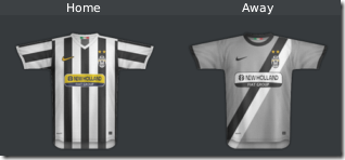 Football Manager 2010 Juventus Kits