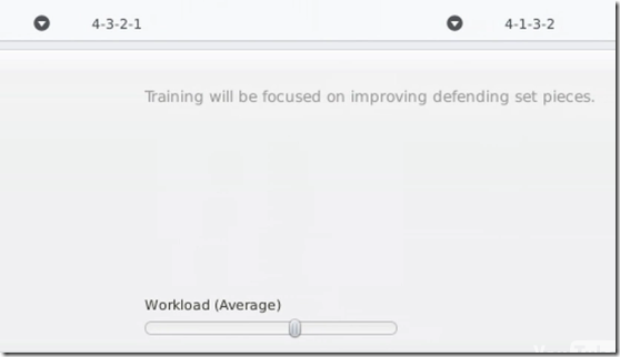 Match preperation area in Football Manager 2011
