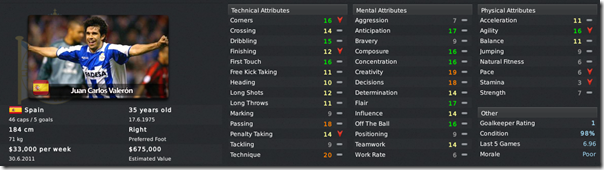 My Football Manager 2011 skin