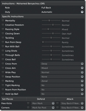 Left/right defender instructions in FM 2011 tactics