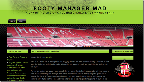 Footy Manager Mad at FM Crowd