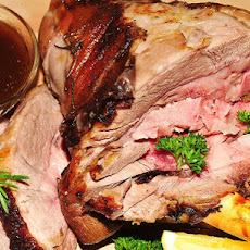 Sherry-Orange Roast Lamb