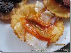 El Molin de Mingo - Torto de bacalao y pimiento