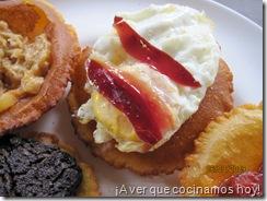 El Molin de Mingo - Torto de huevo y jamon de pato