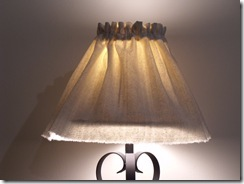 Lamp slipcover 032