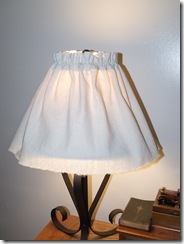 Lamp slipcover 037