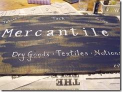 Mercantile sign 009