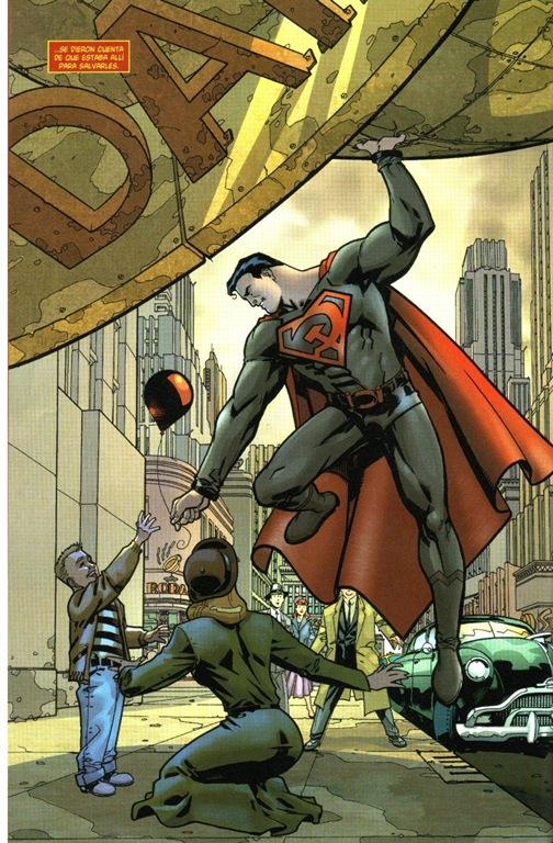 Superman Rojo - para salvarlos a todos