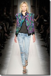 Shoulder Pads on the Runway