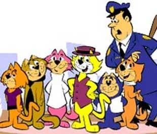 Club de fans de gatos en el anime. DIBUJO+DONGATO+(COLORES)+SU+PANDILLA+BUENOS