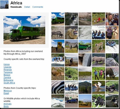 Flickr Africa set