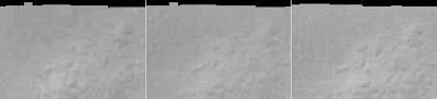 Descomposición RGB de la imagen anterior con los niveles ajustados