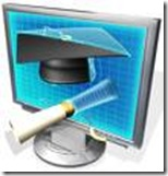 Online school clip art